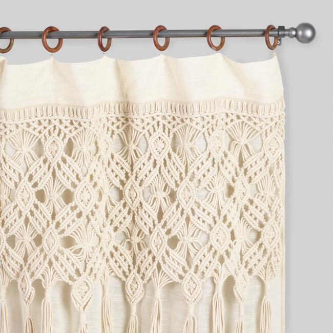 How to make a macrame door curtain