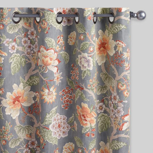 Room With A View Grommet Top Curtains Set of 2