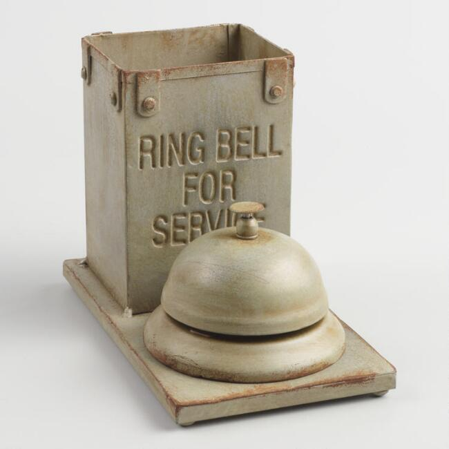 Ring Bell for Service Pencil Cup