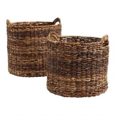 Madras Tote Baskets