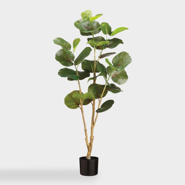 4 Ft Faux Eva Sea Grape Plant