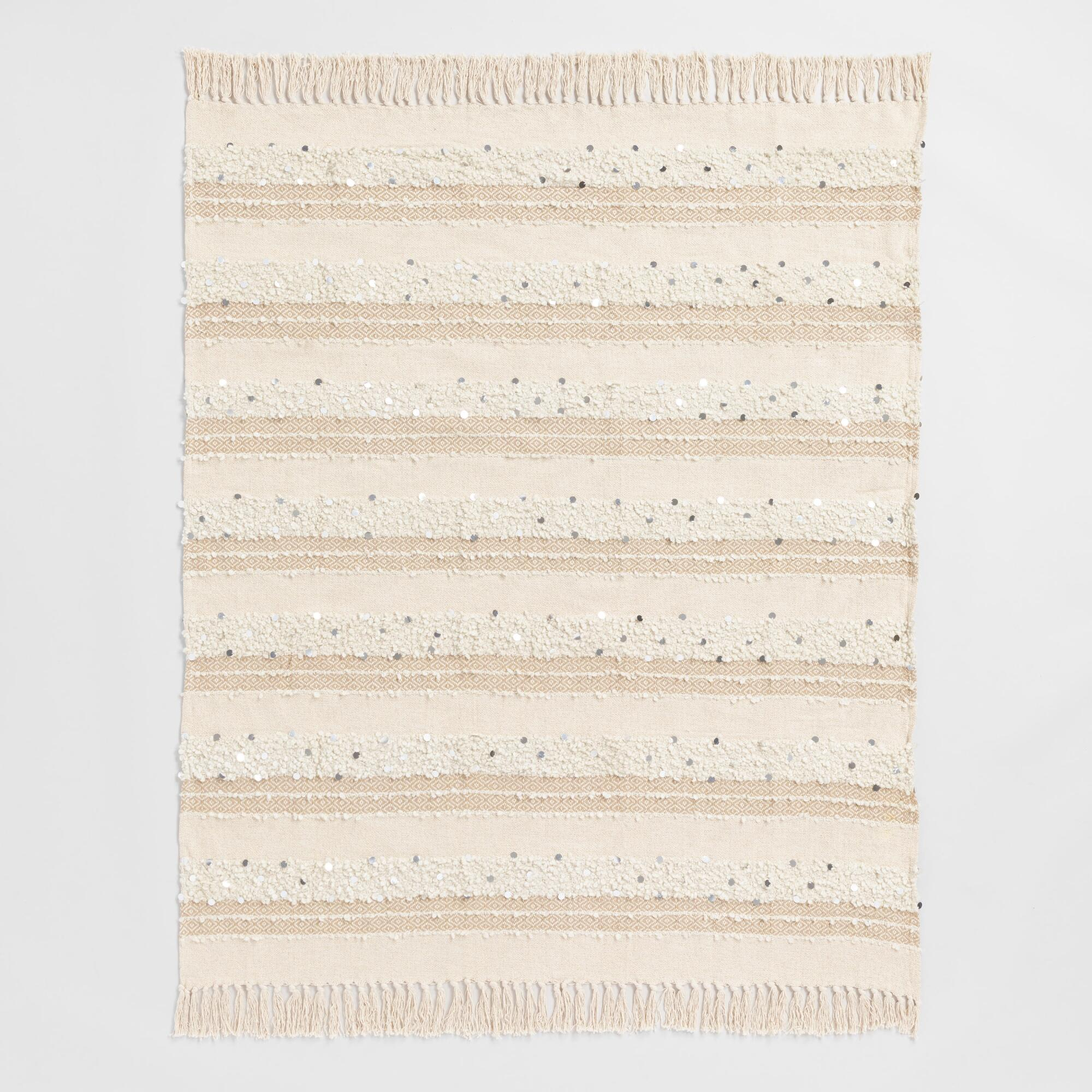 Decorative Throw Blankets - Chenille, Faux Fur, Knit & Fringe ...
