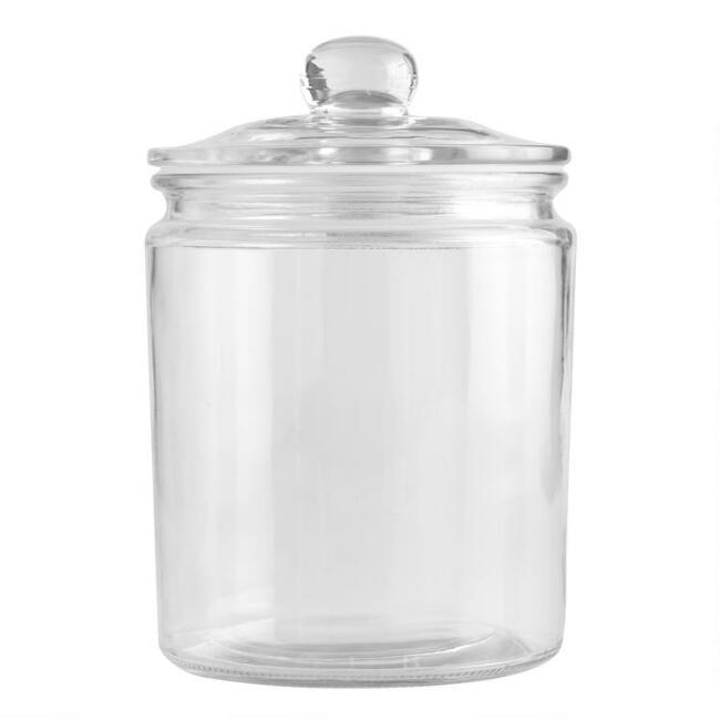 HalfGallon Glass Storage Jar World Market - Kitchen storage boxes
