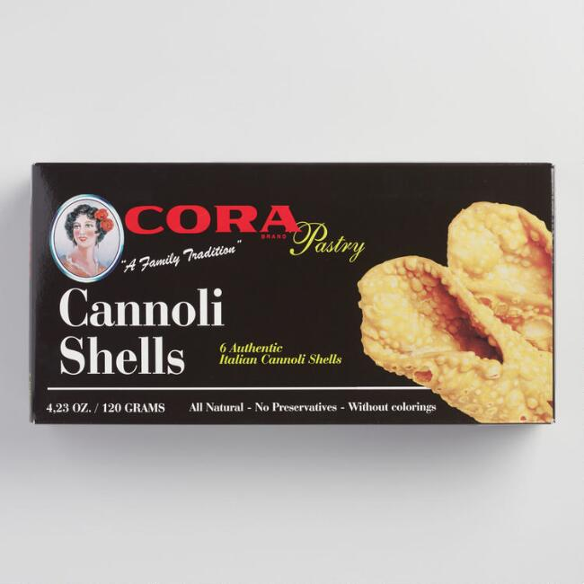 Cora Cannoli Shells