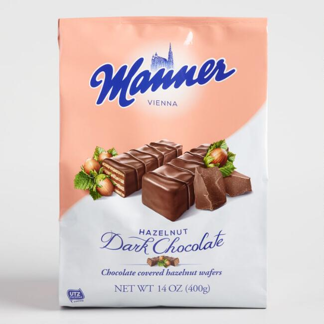 Manner Mignon Dark Chocolate Hazelnut Wafers