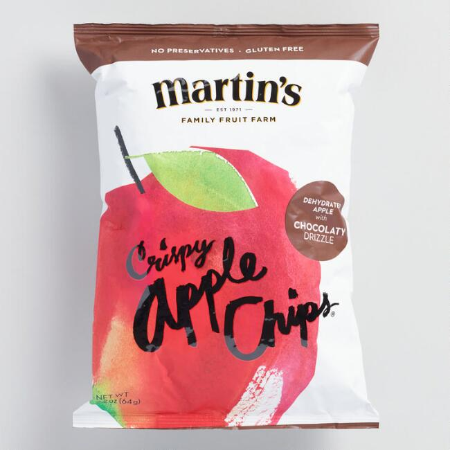 Martin's Chocolaty Drizzle Apple Chips