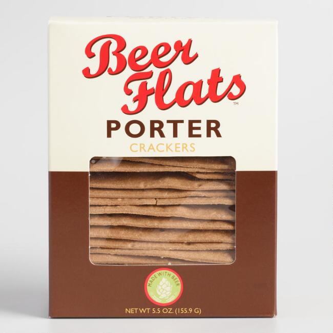 Beer Flats Porter Crackers