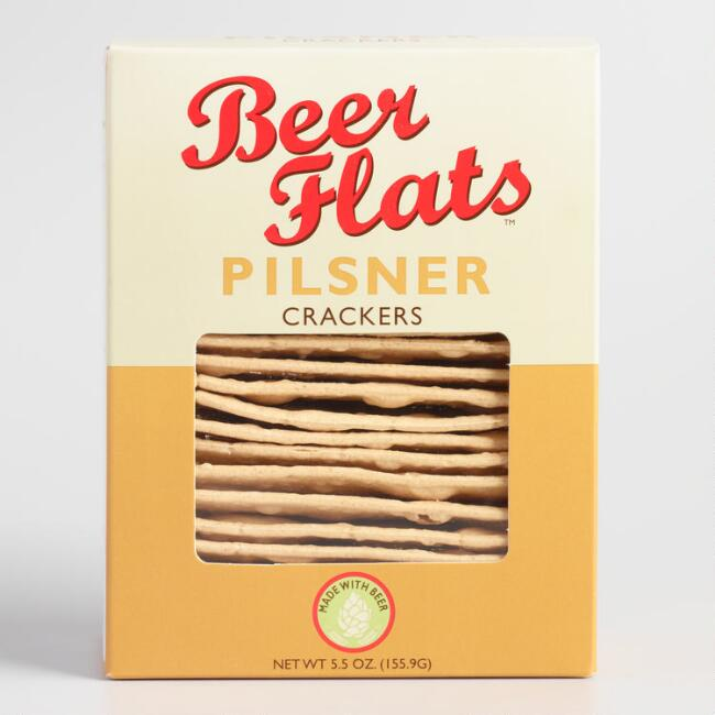 Beer Flats Pilsner Crackers