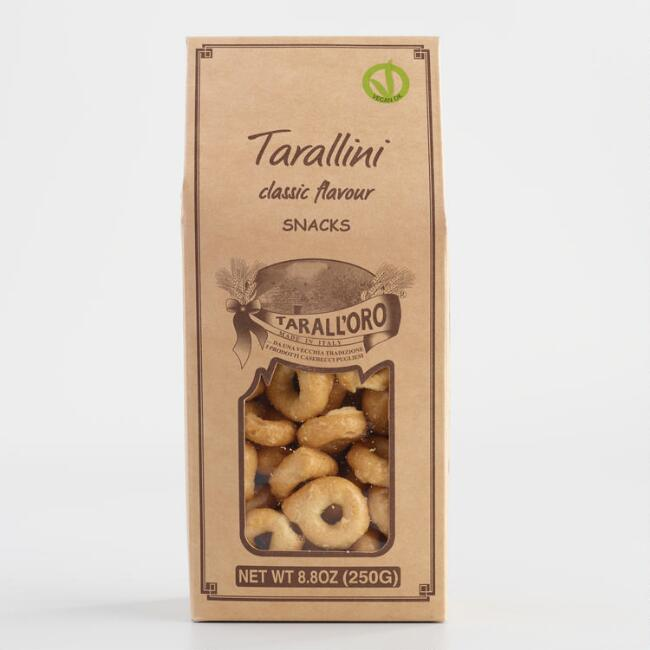 Tarallini Classic Crackers Set of 4
