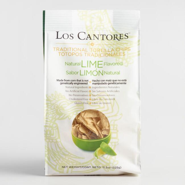 Los Cantores Lime Tortilla Chips