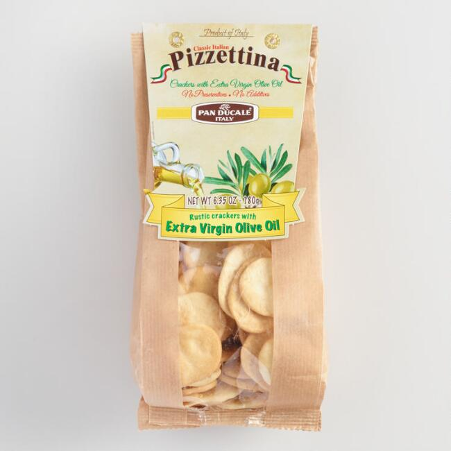Pizzettine Extra Virgin Olive Oil Pizza Crackers