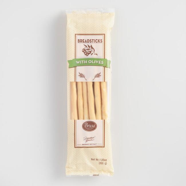 Grissini Olive Petite Breadsticks
