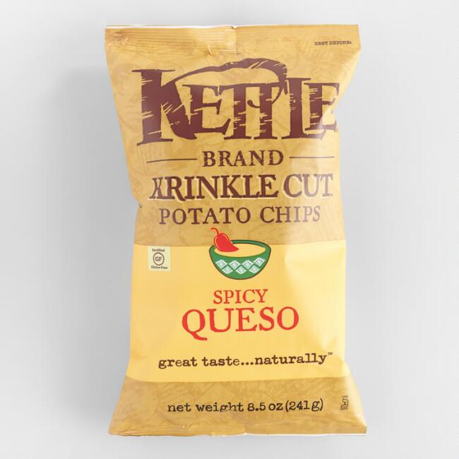 Kettle Brand Spicy Queso Potato Chips