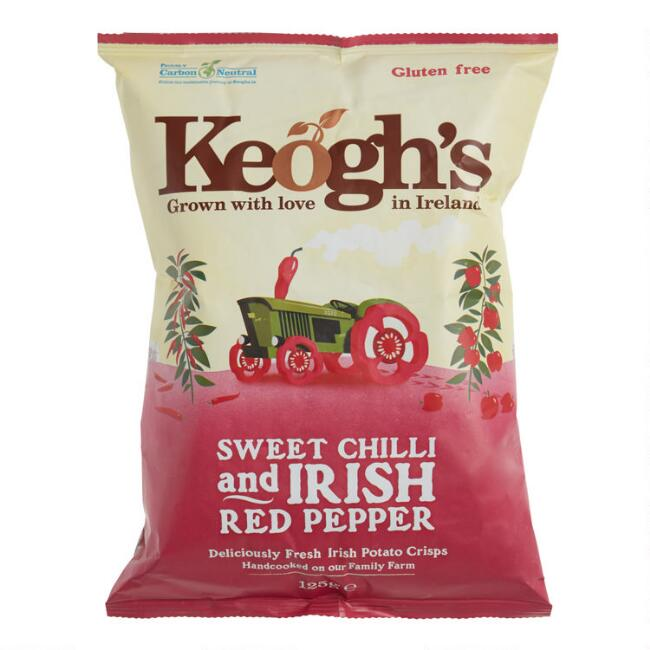 Keogh's Sweet Chili & Red Pepper Potato Chips Set of 12