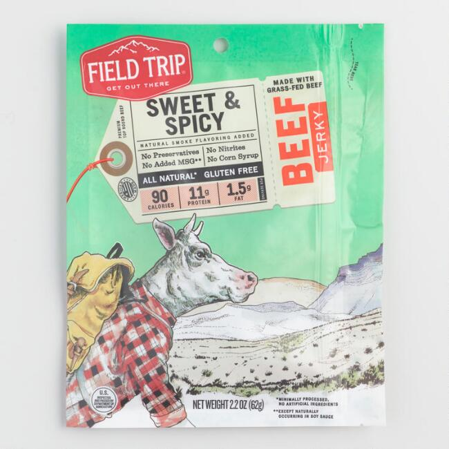 Field Trip Sweet and Spicy Beef Jerky
