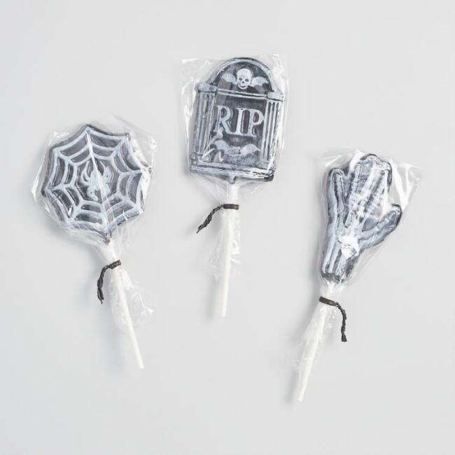 Melville Gothic Frosted Halloween Lollipop
