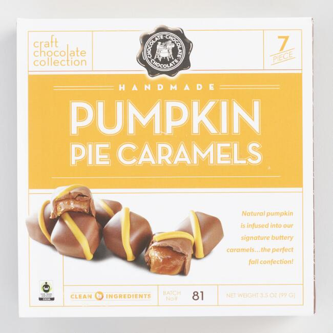 Craft Chocolate Collection Pumpkin Pie Caramels