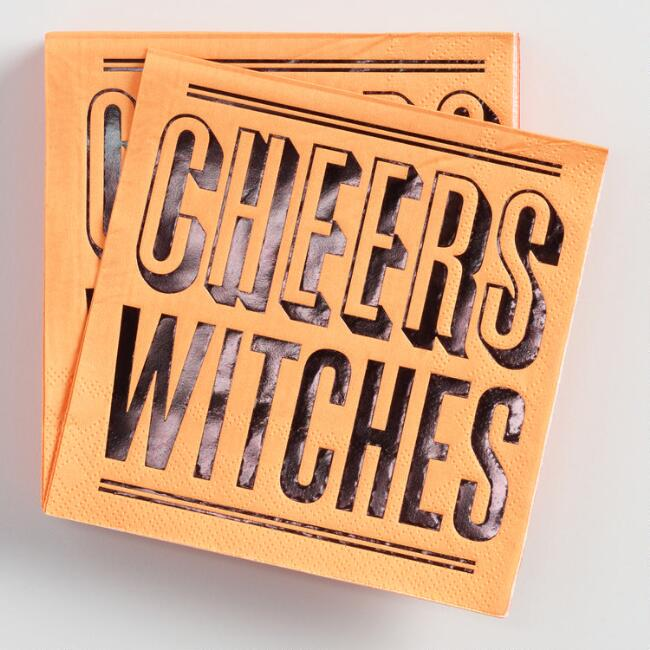 Cheers Witches Beverage Napkins 20 Count