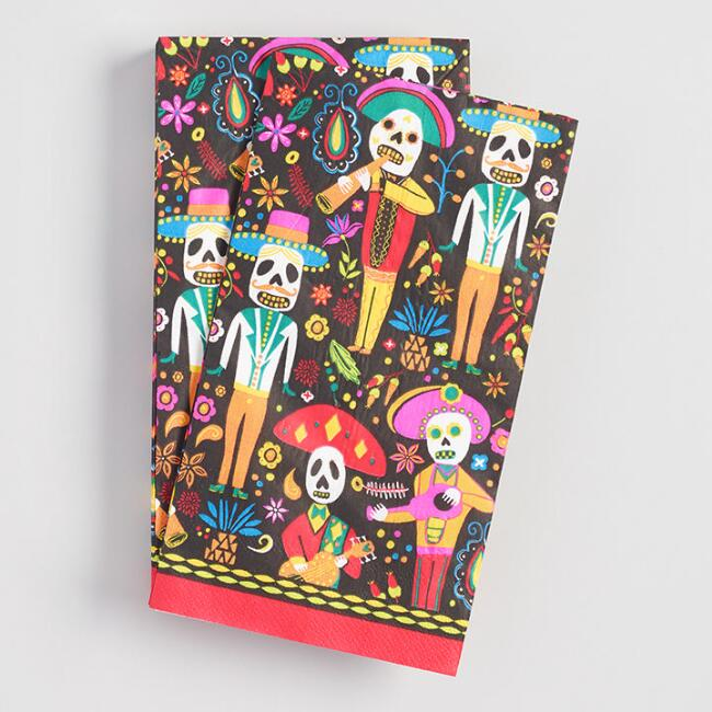 Day of the Dead Guest Napkins 20 Count