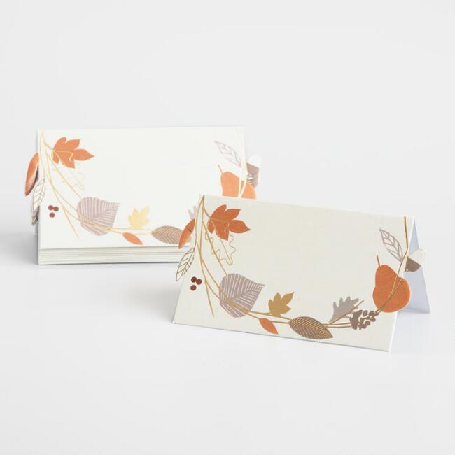 Be Thankful Place Cards 10 Count