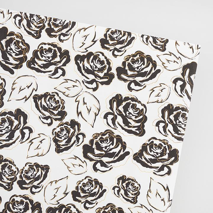 Gilded Roses Wrapping Paper Roll by World