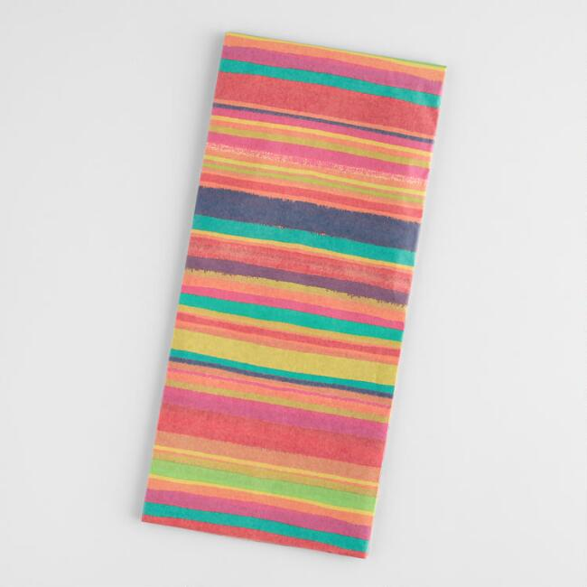Boho Stripe Just a Little Something Tissue Paper Set of 2