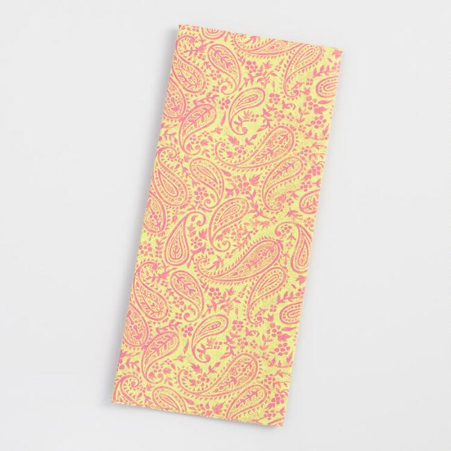 Boho Paisley Tissue Paper Set of 2