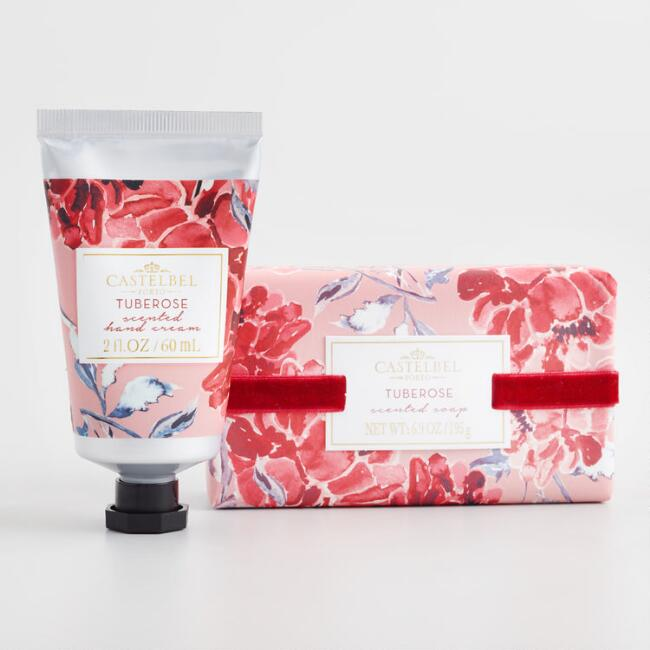 Castelbel Matisse Floral Tuberose Bath and Body Collection