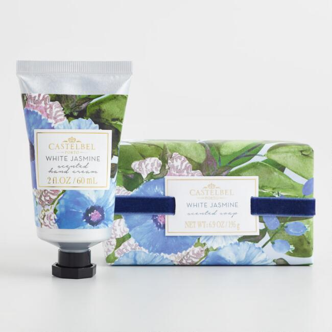 Castelbel Matisse Floral White Jasmine Bath and Body Collection
