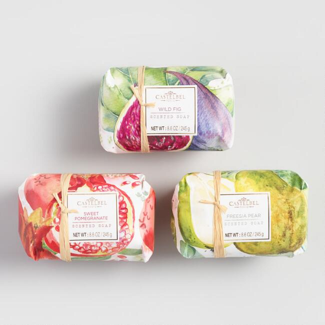 Castelbel Watercolor Fruit Bath and Body Collection