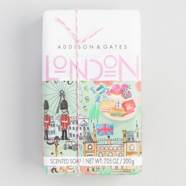 A&G London White Tea Bar Soap Set of 2
