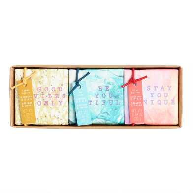 A&G Compliment Bar Soap Set of 3