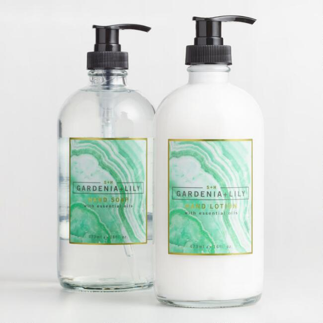 S&H Agate Gardenia Lily Hand Care Collection