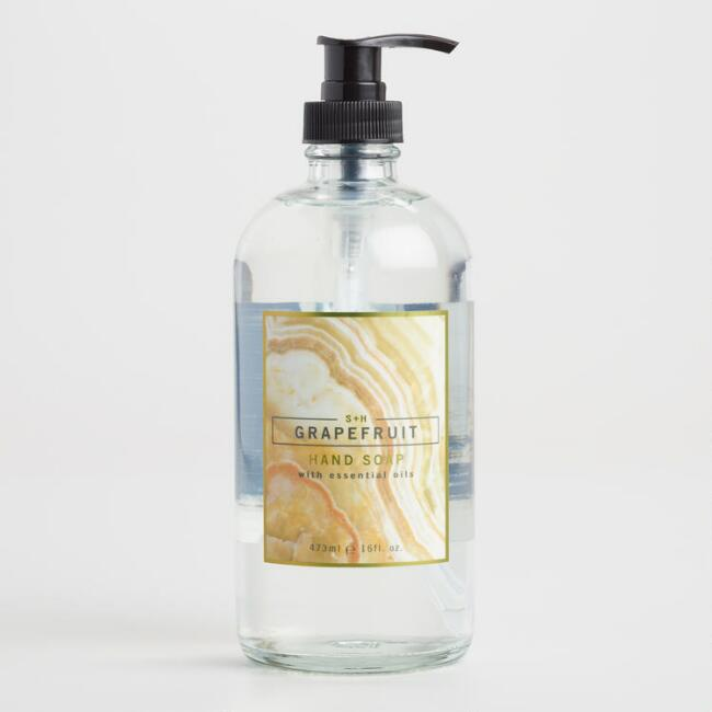 S&H Agate Grapefruit Hand Soap