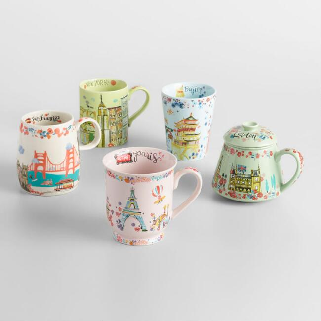 World Traveler Mug Collection