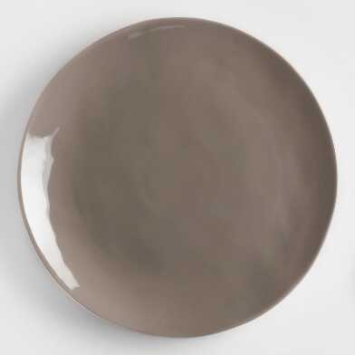 Charcoal Element Dinner Plates Set of 4
