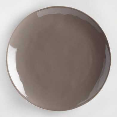 Charcoal Element Salad Plates Set of 4
