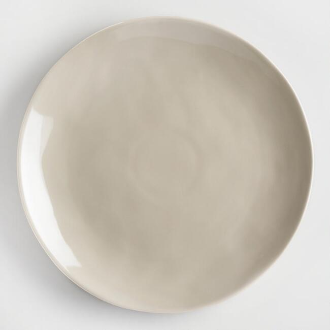 Stone Gray Element Dinner Plates Set of 4