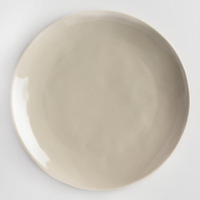 Stone Gray Element Salad Plates Set of 4