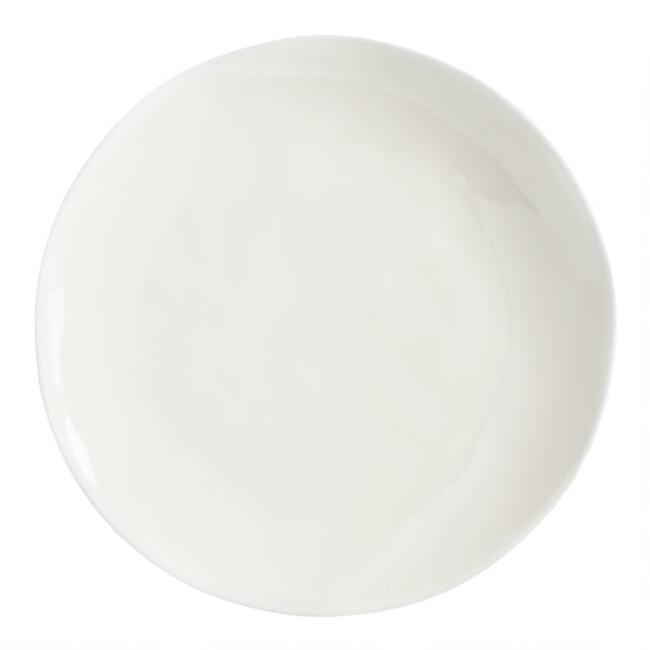 Ivory Element Salad Plates Set of 4