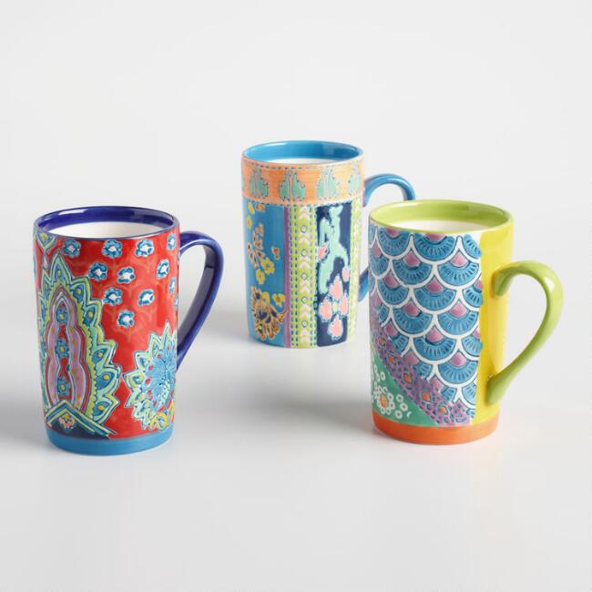 Jaipur Mugs Set of 3