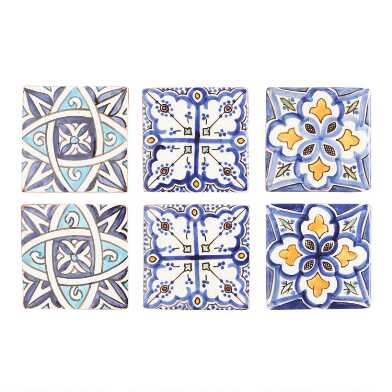 Terracotta Moroccan Tile Coasters 4 Pack