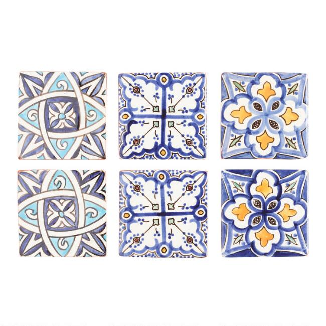 Terracotta Moroccan Coasters Set of 4