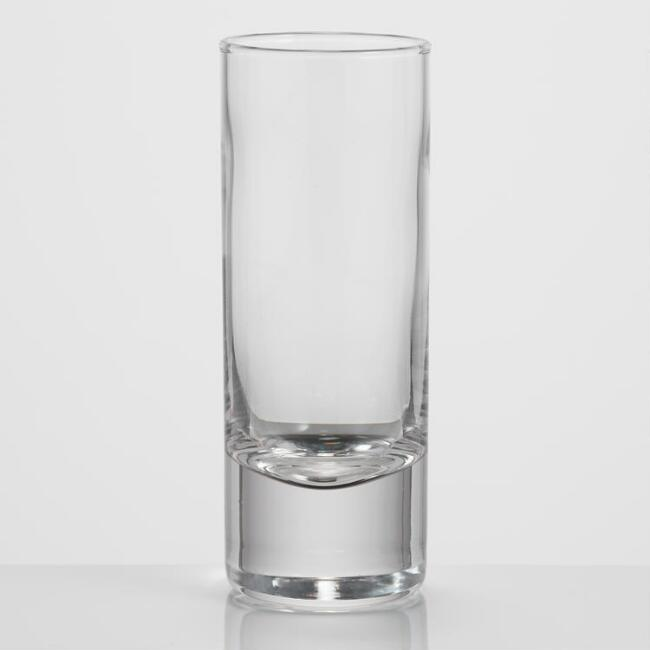 Clear Glass Shot Glasses Set of 6