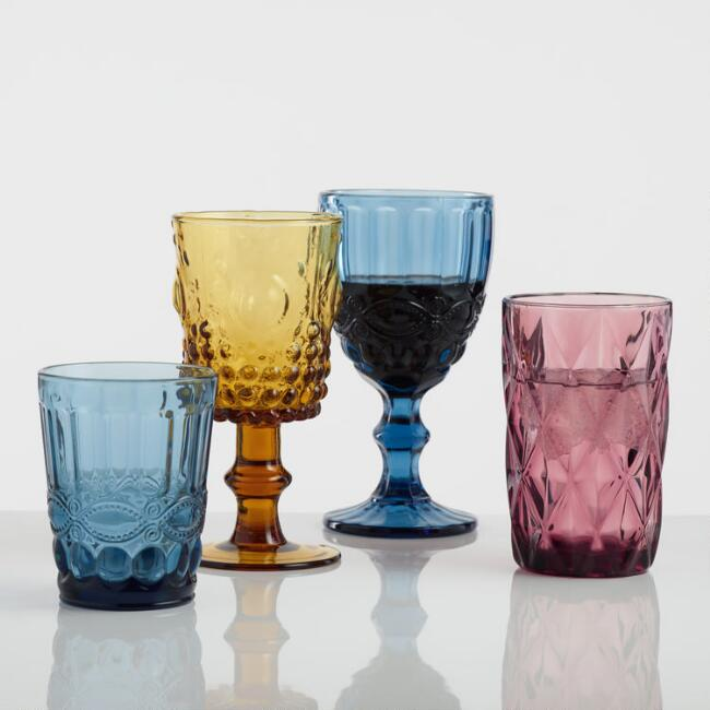 Pressed Glass Collection