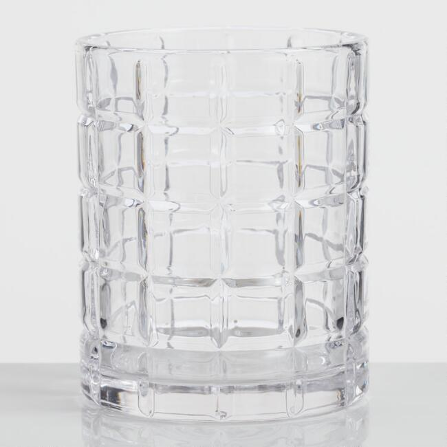 Grant Double Old Fashioned Glasses Set of 4