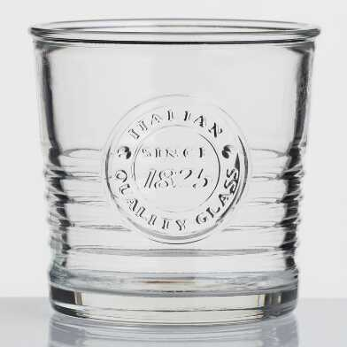 Officina 1825 Double Old Fashioned Glasses Set of 4