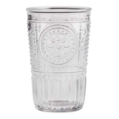 Clear Verona Tumblers Set of 4