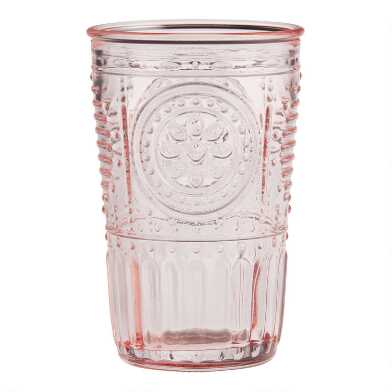 Blush Verona Tumblers Set of 4