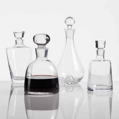 Glass Decanter Collection
